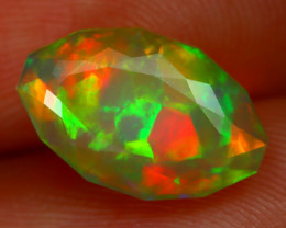 Welo Opal 2.41Ct Natural Ethiopian Play of Color Welo Opal C2602