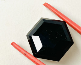 16.5 CT- -BLACK TOURMALINE- AAA  I DISCONNECT MY COLLECTION.  AFTER 36 YEAR