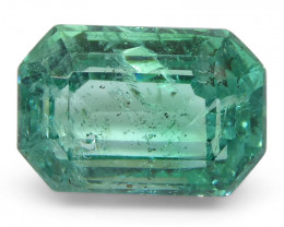 2.74ct Emerald Cut Emerald