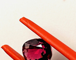 1.93 CT- - MALAYA GARNET! I DISCONNECT MY COLLECTION.  AFTER 36 YEARS!