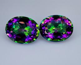 4.85Crt Mystic Quartz Natural Gemstones JI139