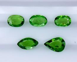 1.85Crt Rare Tsavorite Garnet Lot Natural Gemstones JI139