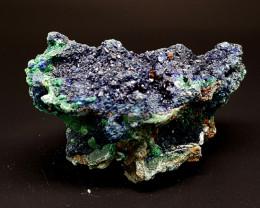 975Crt Azurite & Malachite Specimen 4 Natural Gemstones JI139