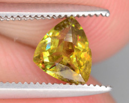 Sparkle 0.55 cts Eye Catching Chrome Sphene Ring Size