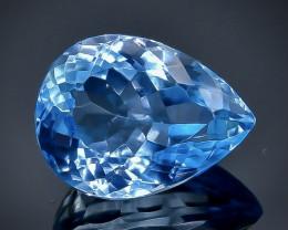 8.08 Crt Natural Topaz  Faceted Gemstone.( AB 92)