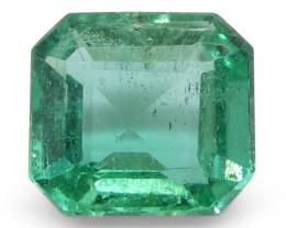 0.83ct Emerald Cut Emerald