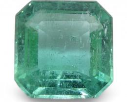 1.71ct Square Emerald