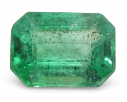 1.71ct Emerald Cut Emerald