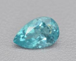 Natural Apatite 1.32 Cts Excellent Paraiba Color Gemstone
