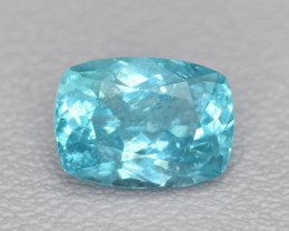 Natural Apatite 1.37 Cts Excellent Paraiba Color Gemstone
