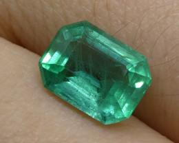 1.76ct Emerald Cut Emerald