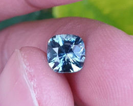 UNHEATED CERTIFIED 1.32 CTS TOP QUALITY GREEN BLUE SAPPHIRE MADAGASCAR