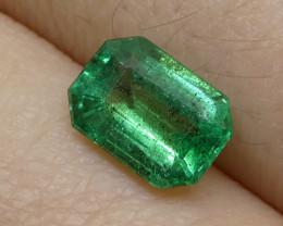 1.16ct Emerald Cut Emerald