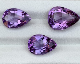 17.85 Carats Natural Amethyst Gemstones