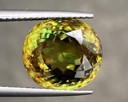 Natural Sphene 7.250 Cts Superb Quality Gemstone.