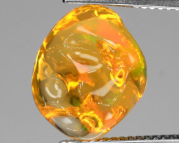 *NoReserve*Mexican Fire Opal 7.11 Cts Very Rare Unheated Gemstones