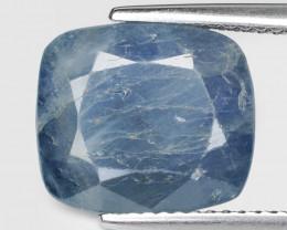 Sapphire Burma 6.82 Cts Natural Fancy Blue Loose Gemstone