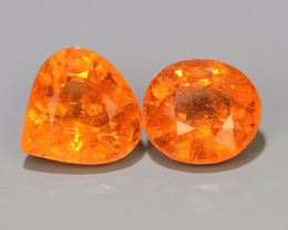 4.25 Cts Unheated Natural Orange Spessartite Garnet Namibia Gem!