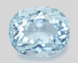 Aquamarine 2.87  Cts Blue Natural Loose Gemstone
