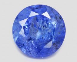 Tanzanite 1.75 Cts Amazing Rare Violet Blue Color Natural Gemstone