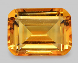 Mystic Quartz 11.28 CTS Orange Color Natural Gemstone