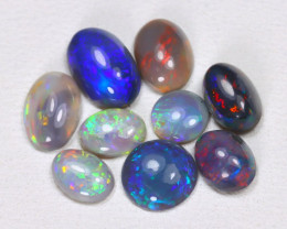 2.28Ct Australian Lightning Ridge Dark Black Opal Lot B1627