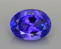 AAA Grade 5.00 ct Tanzanite Top Class Blue Hue  SKU-33