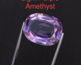 Clean 17.40 ct attractive Light Purple Amethyst