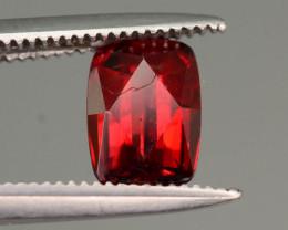 Top Grade 1.00 ct Fancy Cut Red Himalayan Garnet