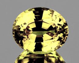 6x5 mm Oval 0.80ct Ceylon Yellow Sapphire (No Beryllium) [VVS]