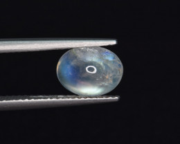 Natural Moon Stone 1.72 Cts Good Color Play Gem
