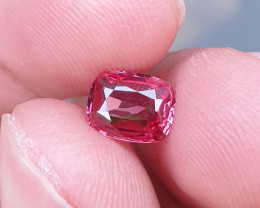 UNHEATED 1.22 CTS NATURAL BEAUTIFUL VS PINKISH ORANGE SPINEL MOGAK BURMA