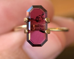 1.97 Ct Purple Idaho Garnet