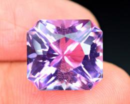 16.30Carat full lustrous Amethyst fancy cut Gemstone