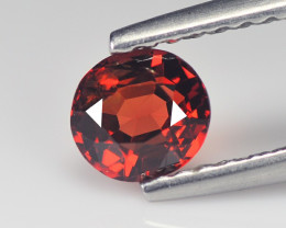 Spinel 0.85 Cts Red Step cut BGC1452