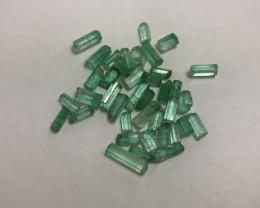 30.63 cts Panjshir Emerald Parcel