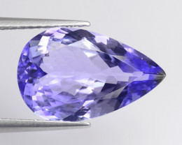 Tanzanite 4.85 Cts Amazing Rare A+ Violet Blue Color Natural Gemstone