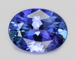Tanzanite 1.16 Cts Amazing rare Violet Blue Color Natural Gemstone
