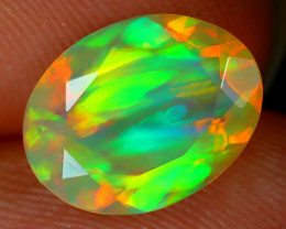 Welo Opal 1.55Ct Natural Ethiopian Play of Color Welo Opal C2801