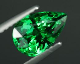 VVS1 - 2.12ct  BEST 5A GREEN TSAVORITE