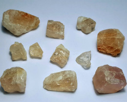 Beautiful Natural color Gemmy quality Katlang Topaz rough  100CtsGN99