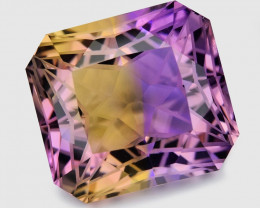 15.84 Ct Master Cut Bolivian Ametrine Collector Piece Amf3