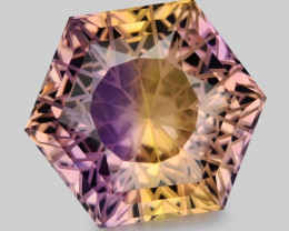 11.33 Ct Master Cut Bolivian Ametrine Collector Piece Amf5