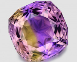 12.85 Ct Master Cut Bolivian Ametrine Collector Piece Amf15