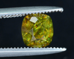 Sparkle 0.85 cts Eye Catching  Chrome Sphene Ring Size