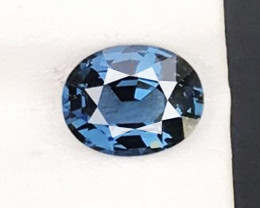 3.280 CT IF CLEAN 100% NATURAL UNHEATED COBLAT BLUE SPINEL AIG CERTIFIED