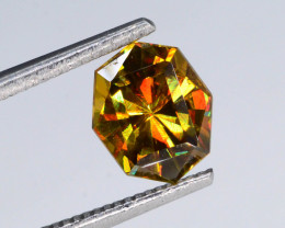 Rainbow Fire 1.0 Ct AAA Brilliance Sphene~Fancy Cut~G