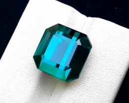Tourmaline, 15.95 Carats Top Quality Natural Indicolite Tourmaline ~ Afghan