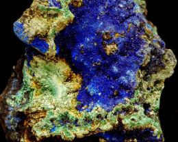 445Crt Azurite & Malachite Specimen Natural Gemstones JI140