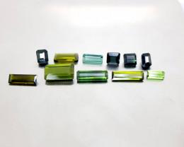 13Crt Tourmaline lot Natural Gemstones JI140